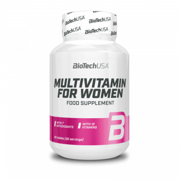BioTech Multivitamin for Women 60 tabletta