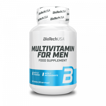 BioTech Multivitamin for Men 60 tabletta