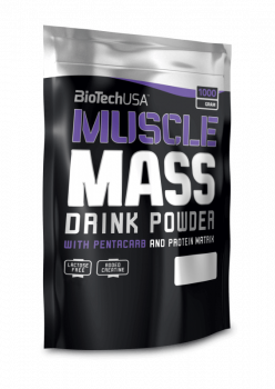 BioTech Muscle Mass 1000g
