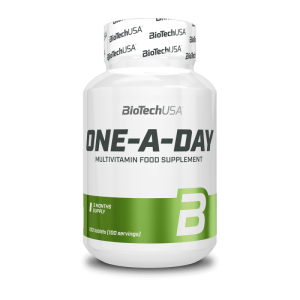 BioTechUSA One - A - Day multivitamin 100 tabletta