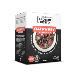 BioTechUSA Protein Gusto - Oat & Whey with fruits
