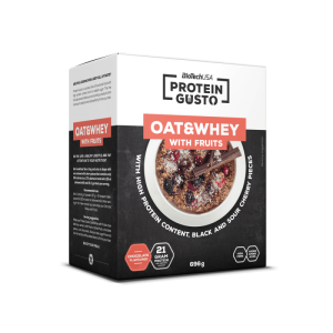 BioTech Oat & Whey with fruits 696g